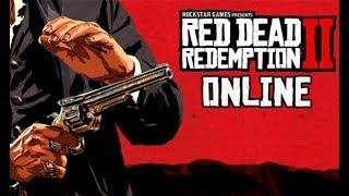 Começando Red Dead Redemption 2 Online Beta, Dia 1!