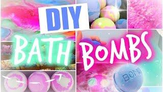 DIY: BATH BOMBS / БОМБОЧКИ ДЛЯ ВАННЫ | Сделай Сам(Спасибо большое за просмотр этого видео! Если оно вам понравилось, то пожалуйста покажите мне это с помощ..., 2015-08-11T10:06:06.000Z)