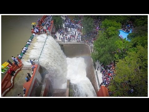 Apertura de la Presa de la Olla, Guanajuato 2016