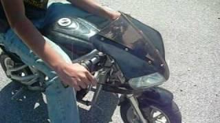 Pocket Rocket Mini Bike X7 49cc