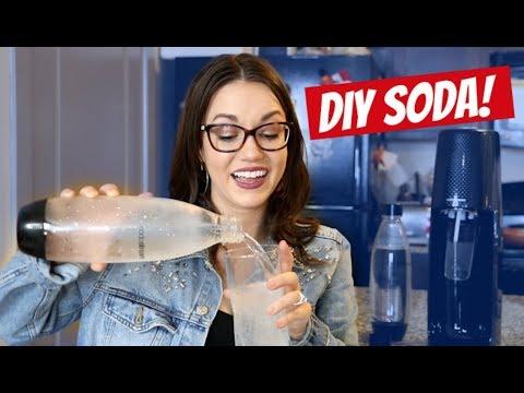 SODASTREAM REVIEW| DIY SODA