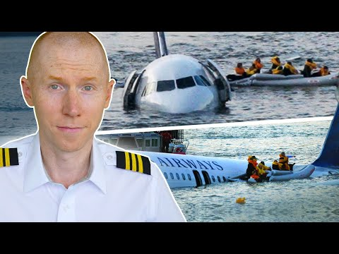 Sully Movie : Hollywood Vs Reality | Airline Pilot Reacts