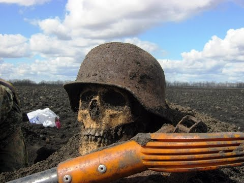 Раскопки в полях Второй Мировой Войны Фильм 28/Excavation in fields of World War II the Film 28