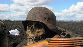 Excavation in fields of World War II the Film 28