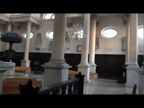 Inside St Stephen Walbrook