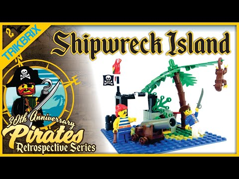Lego 6260 Shipwreck Island Review 30th Anniversary Pirates Retrospective Ep 2 Youtube