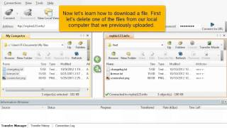 HostMetro - FTP - WsFTP Upload Mp3