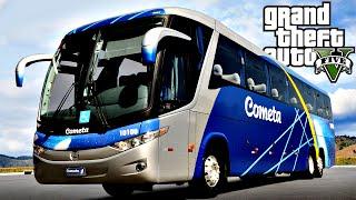 Video GTA 5: Mod Bus - Ônibus Cometa Tombei o Busão download MP3, 3GP, MP4, WEBM, AVI, FLV Januari 2018
