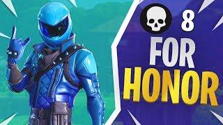 For Honor - Fortnite Honor Guard Skin Gameplay