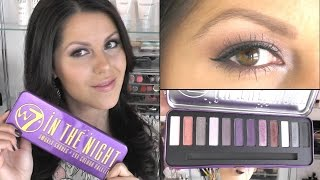 ♥ Review w7 in the night palette + tutorial Thumbnail