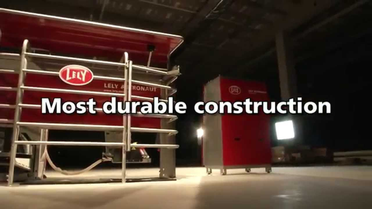 Lely Astronaut A4 -  Milking robot highlights (English)
