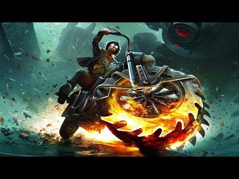 Банда Байкеров Стальные Крысы против инопланетных мусороботов круши врагов на мощных мотоциклах