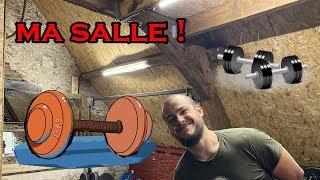 J'ai transformé mon grenier en salle de sport !