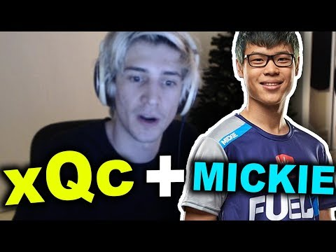 xQc working on his communication with MICKIE (xQc Duos with Mickie Season 8)