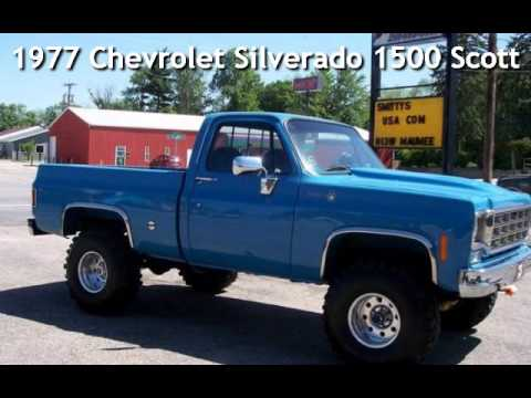 1977 Chevrolet Silverado 1500 Scottsdale for sale in Angola, IN