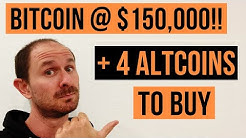 Bitcoin at $150,000 + 4 Altcoins To Surpass Bitcoin   Mark Cuban On Bitcoin vs Bananas