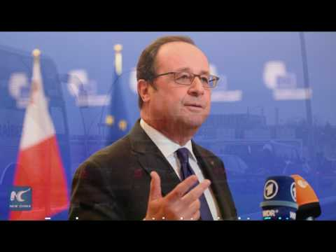 French president reaffirms determination to fight terrorism after Orly airport attack