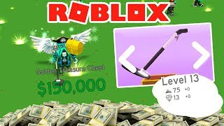 I GET A $500,000 😱 TREASURE CHEST - ROBLOX METAL DETECTOR