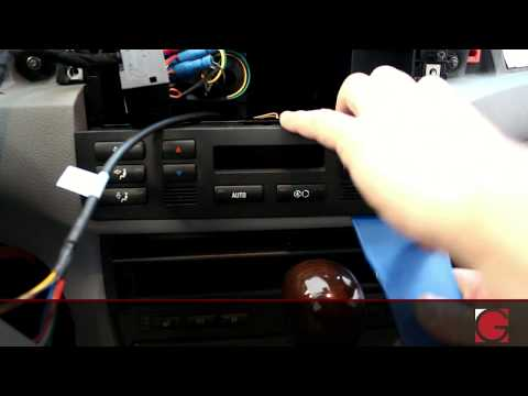 Bmw e46 3 series GROM Android iPod USB Bluetooth Install Demo 2000 2001 2002 2003 2004 2005 2006