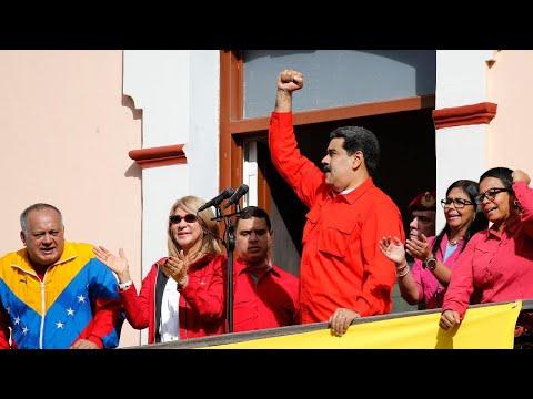 Venezuela Military Sets Up Blockade To Halt Humanitarian Aid