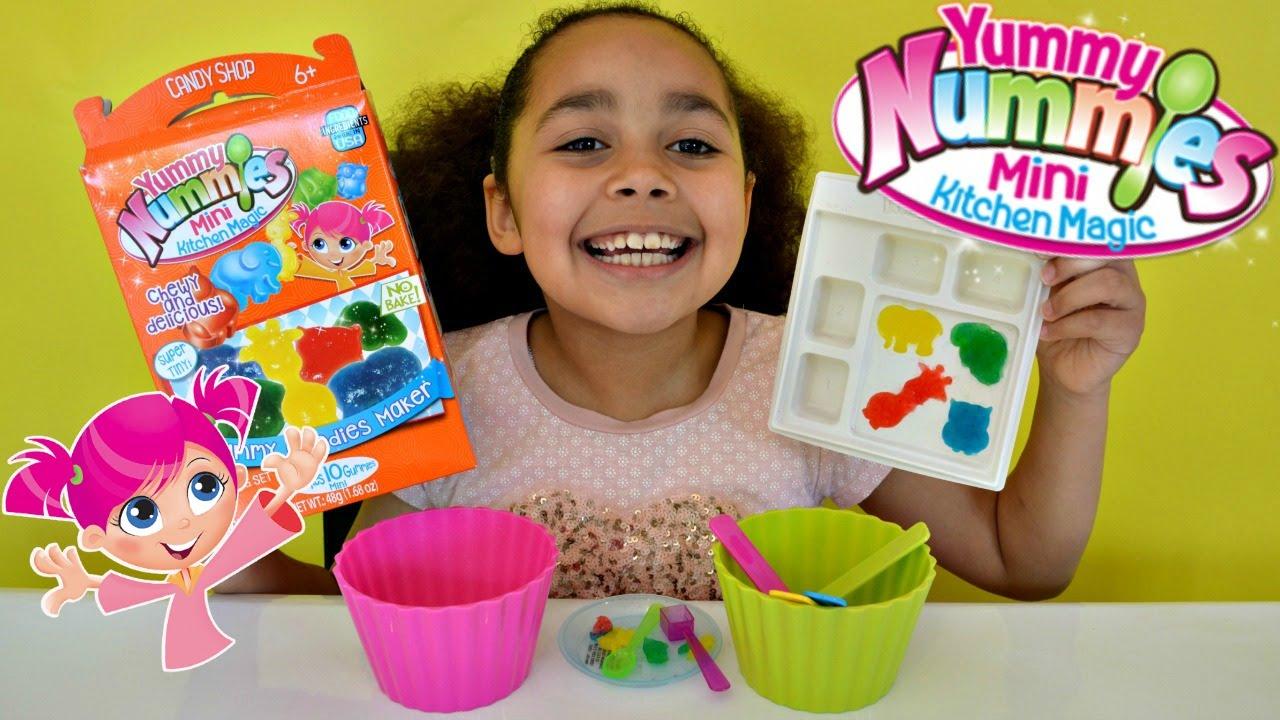 Superior Kitchen Magic Reviews #10: NEW YUMMY NUMMIES MINI KITCHEN MAGIC - GUMMY MAKING REVIEW | Toys AndMe - YouTube