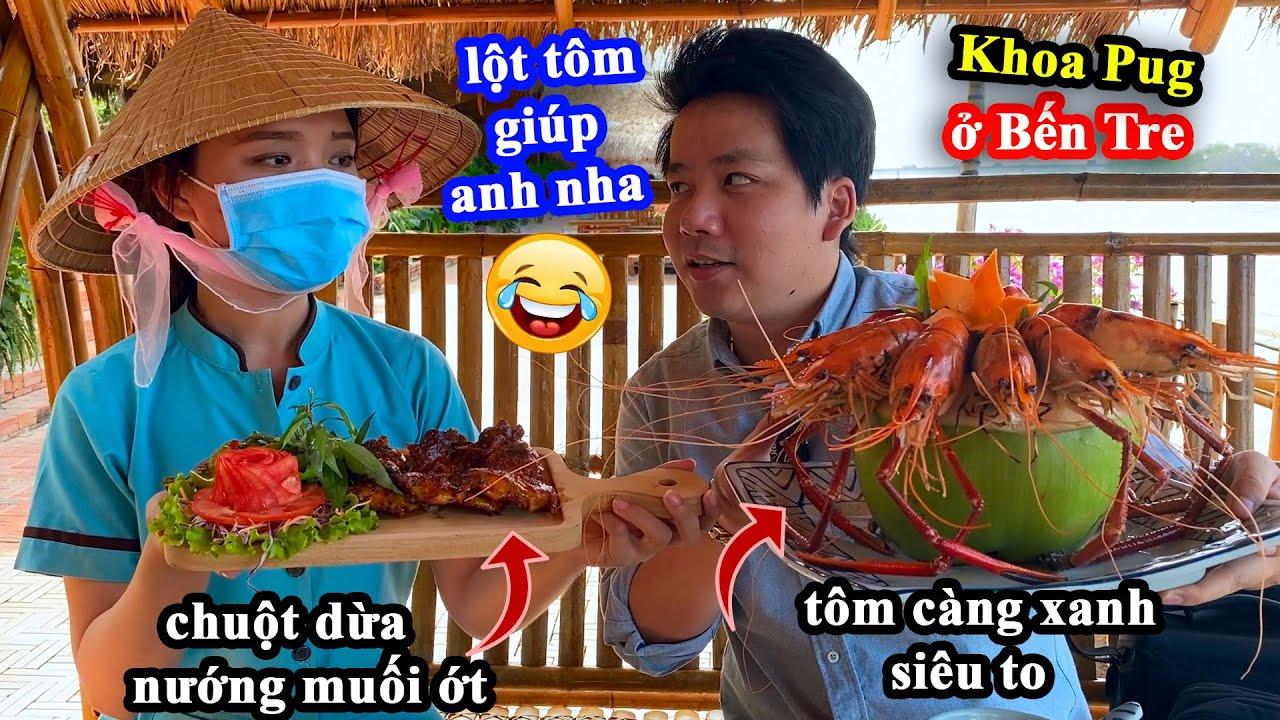 Cá Tai Tượng Chiên Xù, Tôm Càng Xanh Hấp Dừa, Chuột Dừa Nướng Muối Ớt, Lươn Lụi Xả - Đặc Sản Bến Tre