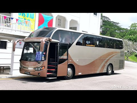 [Friend of Bus] PC9303L on Singapore Art Week 2021 Shuttle - Isuzu LT434P Liannex