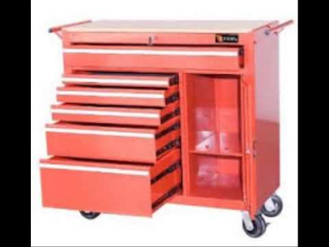 Viper Tool Storage V4108UBSS 41 Inch 8 Drawer 18G Stainless Steel Rolling  Inch Ultimate Box Inch Too