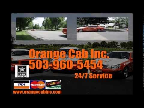Taxi Cab In Beaverton (503)960-5454 Orange Cab Company
