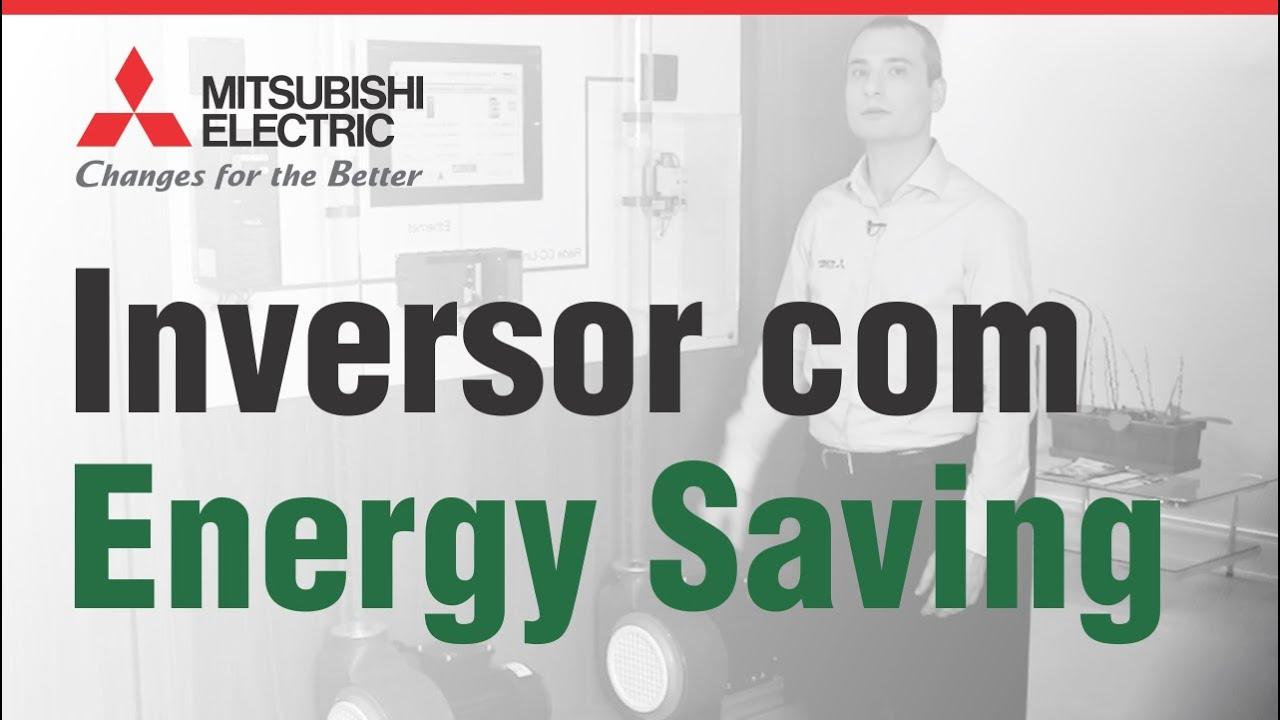 O Inversor de Frequência FR-F800 - Energy Saving