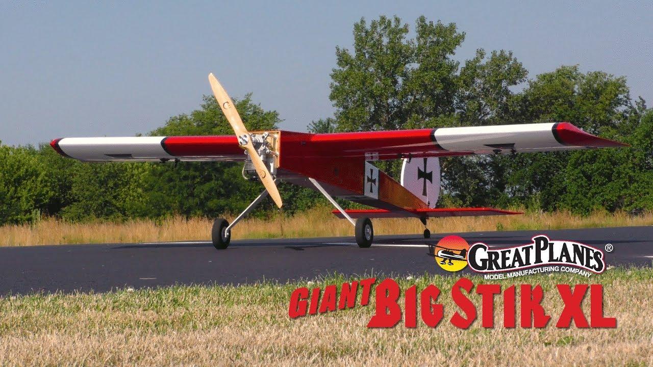 Great Planes Giant Big Stik XL 55-61cc Gas/EP ARF