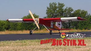 Great Planes Giant Big Stik XL 55-61cc Gas/EP ARF Video