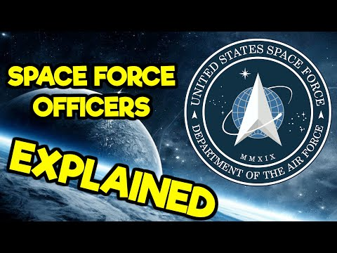 US SPACE FORCE: SPACE FORCE OFFICER JOBS (2020)