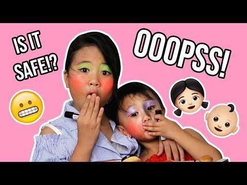 MAKEUP TUTORIAL KIDS EDITION! | MB VLOG 3