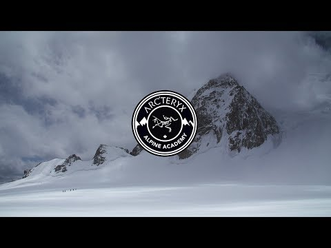 Arc'teryx Alpine Academy - Roping up for Glaciers