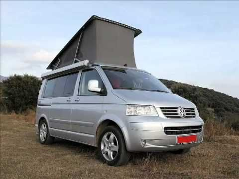 rent volkswagen california comfortline campervan t5 barcelona spain youtube. Black Bedroom Furniture Sets. Home Design Ideas