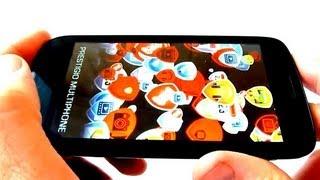 Prestigio Multiphone 5000 Duo - полный видео обзор