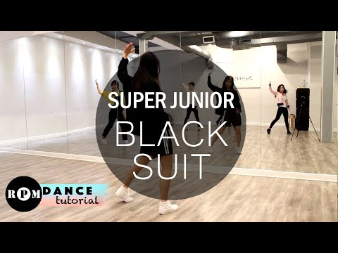 "Super Junior ""Black Suit"" Dance Tutorial (Chorus)"