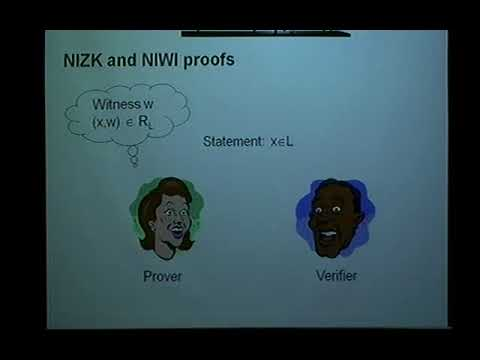 Jens Groth (University College London) / Pairing-based Non-interactive Zero-Knowledge Proofs