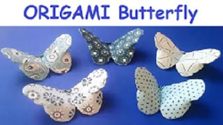 ORIGAMI vs KIRIGAMI butterfly reupload - 2.8 million times watched