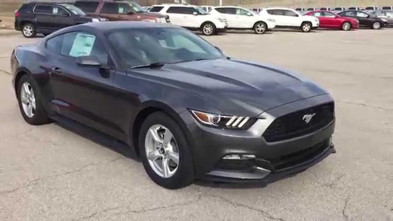 2015 Ford Fusion Rims >> F5350210 2015 Ford Mustang V6 Grey @PatirotFord - YouTube