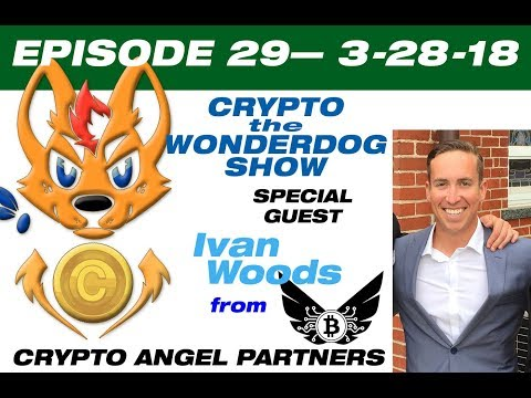 E29 How to get Venture Capitol for Your Crypto ICO - Ivan Woods - Crypto Angel Partners