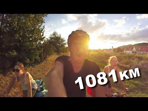 Donauradweg 2015 - from Donaueschingen to Győr - 1081km