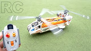 LEGO Technic 42052 B model - RC Motorized Tandem Rotor Helicopter by 뿡대디
