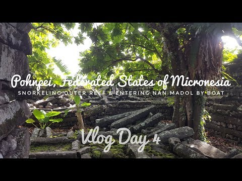 Snorkeling Outer Reef and Entering Nan Madol by Boat - Pohnpei, Micronesia | Vlog Day 4
