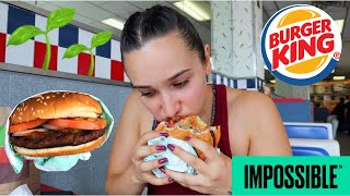 Impossible Whopper Taste Test!