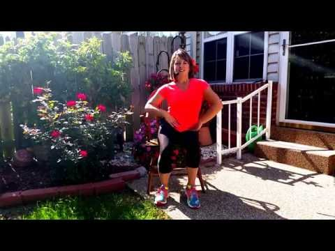Seated Exercises Chair Fitness - CORE #1- Multiple Sclerosis - Abs -  MS - Video #1