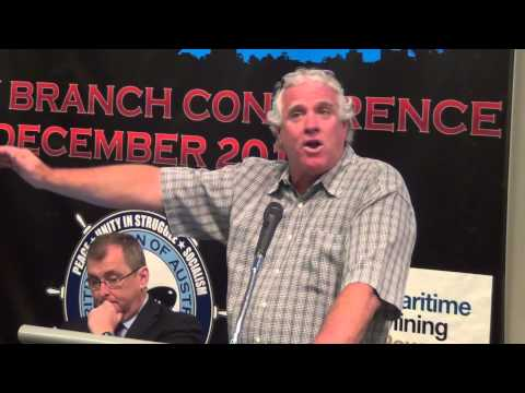 National Secretary Paddy Crumlin Addresses Sydney Branch Conference 2013