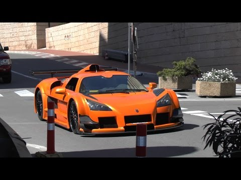 WOMAN Driving Gumpert Apollo HARD In Monaco!!!