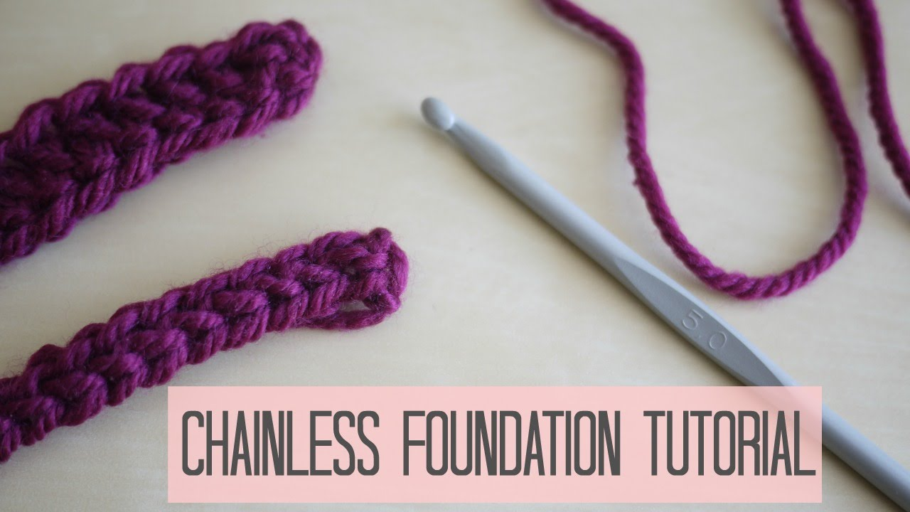 Foundation chain tutorial #4: how to work into the opposite side.